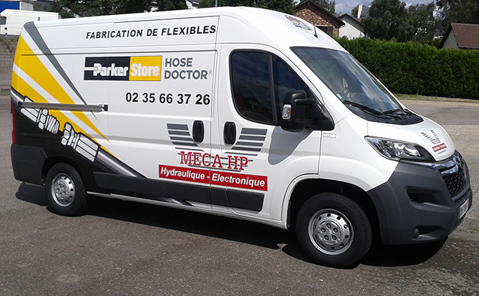 camion connectique parker hose doctor